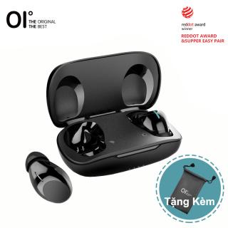 Tai nghe không dây OI Bluetooth 5.1 sạc nhanh cảm biến chỉ trong vòng 1H và có thể nghe nhạc suốt 6H chống ồn và chống nước IPX7 Kèm hộp sạc thumbnail