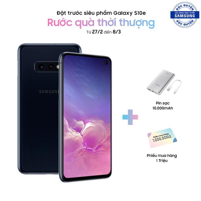Samsung Galaxy S10e - (Quà tặng Preorder: Phiếu mua hàng 1 triệu + Pin dự phòng Samsung 10,000mAH ) - Hàng phân phối chính hãng.