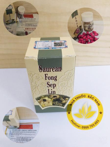 TUYẾT LIÊN PHONG THẤP LINH - Saurean Fong Sep Lin xương khớp cao cấp