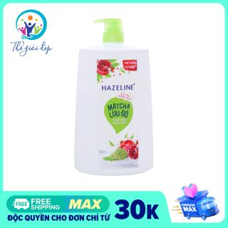 Sữa Tắm Hazeline Matcha Lựu Đỏ 1.2KG thumbnail