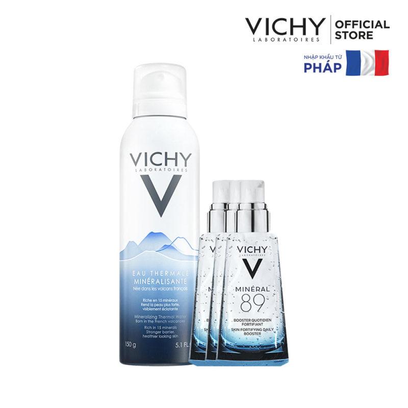 Bộ Sản Phẩm Xịt khoáng dưỡng da Vichy Mineralizing Thermal Water 150ml nhập khẩu