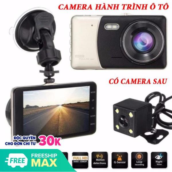 Camera Hành Trình Xe Hơi X003 Tích Hợp Camera Trước + Sau Màn Hình 4 Inch Thiết Kế Đẹp Mắt,Sang Trọng,Góc Nhìn Rộng, Có Đèn Flash Ghi Hình Cực Rõ Vào Ban Đêm, Camera Độ Phân Giải Full Hd 1080p Hình Ảnh Sắc Nét.Hỗ Trợ Thẻ Nhớ 64GB