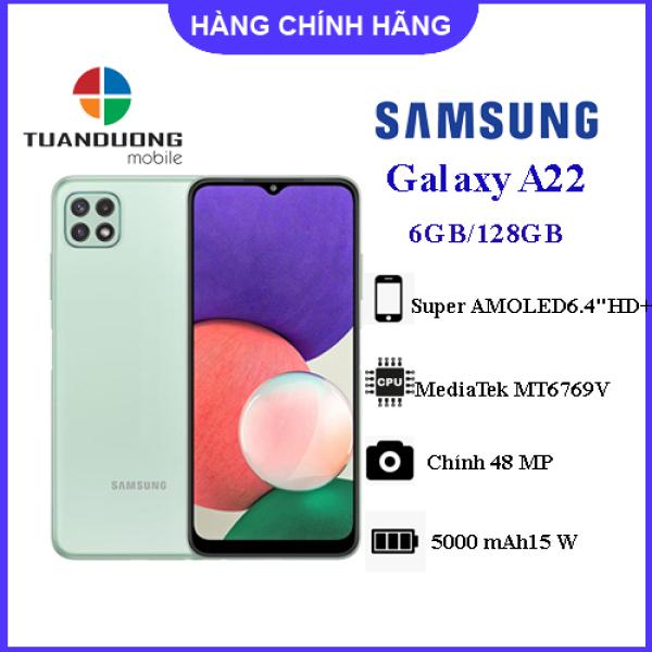 Điện thoại Samsung Galaxy A22 (6GB/128GB) Hàng Chính Hãng