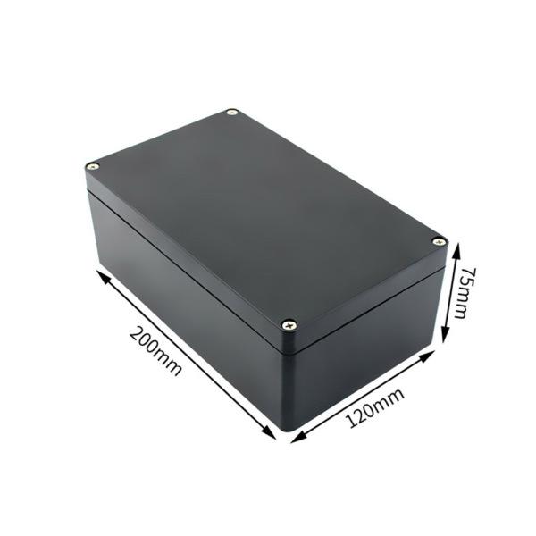 Bảng giá Hộp Nhựa 200x120x75mm đen (chống nước IP65)