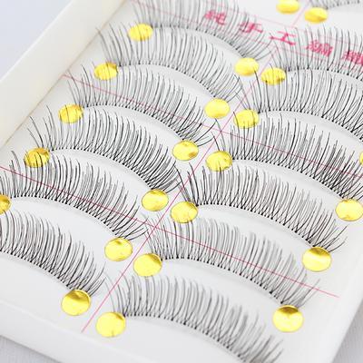Lông mi giả hộp 20 cái - Mi cước - mi giả mi gân trong cho đôi mắt đẹp tự nhiên - phụ kiện trang điểm giá rẻ - Lavy Store tốt nhất