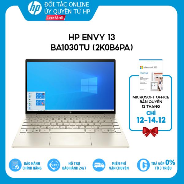 Bảng giá [Voucher giảm 15%, Tặng Office 365] - TRẢ GÓP 0% Laptop HP Envy 13-ba1030TU (2K0B6PA) i7-1165G7   8GB   512GB   Intel Iris Xe Graphics   13.3 FHD   Win 10   Office Phong Vũ