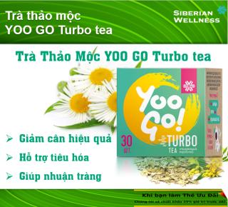 Trà thảo mộc Yoo Go Turbo Tea giúp giảm cân hiệu quả và an toàn thumbnail