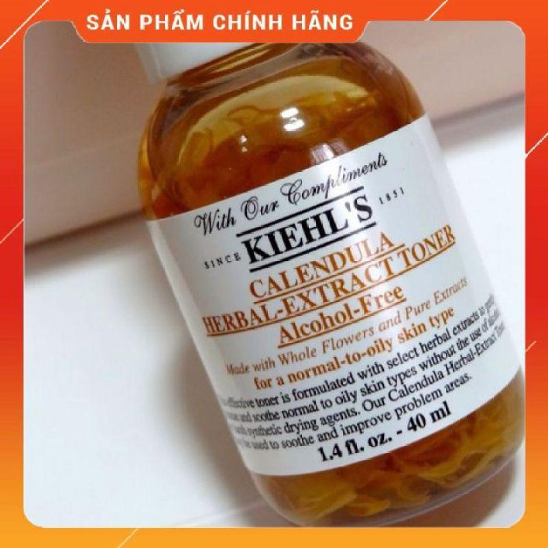 Toner Hoa Cúc Calendula Herbal Extract Alcohol-Free Toner 40ml cao cấp