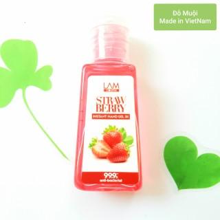 [HCM]Gel rửa tay khô 3K LamCosmé Strawberry 60ml (Hương dâu) thumbnail