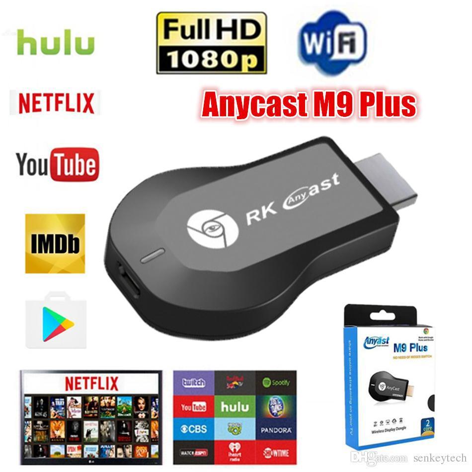 [SIÊU HOT] Thiết bị HDMI không dây Anycast M9, Kết nối HDMI điện thoại với tivi, chơi game mobile trên màn hình tivi [Goodshop4u]