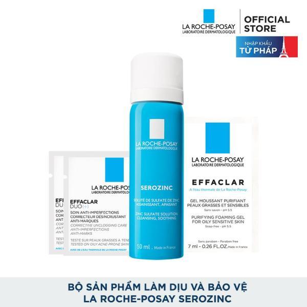 Bộ sản phẩm làm dịu và bảo vệ La Roche-Posay Serozinc tốt nhất