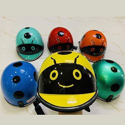 Giá bán nón bảo hiểm con bọ trẻ em