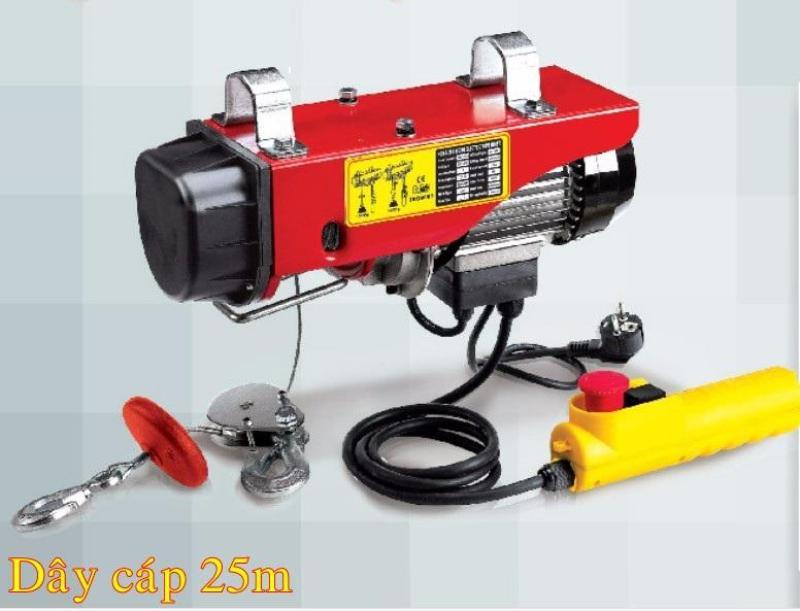 Máy Tời điện treo PA200,dây cáp 25m,dụng cụ chuyên dụng