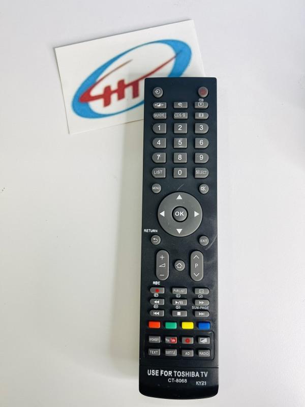 Bảng giá Remote Toshiba CT-8068 xài mạng (Có thẻ lựa chọn mua hàng ở mục Variation chỉ mua Pin, COMBO Remote kèm pin) - SP000818