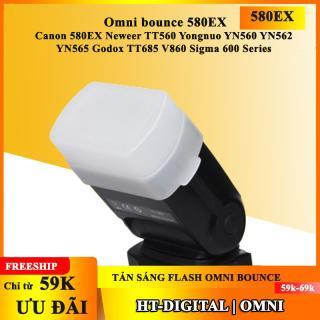 Tản sáng flash Omni bounce 580EX Neweer TT560 Yongnuo YN560 YN562 YN565 Godox TT685 V860 Sigma 600 Series thumbnail