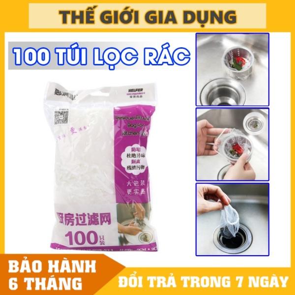 Bảng giá Combo 100/200/300 Túi Lọc Rác, Thức Ăn Thừa Thông Minh Dành Cho Bồn Rửa Chén