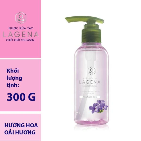 Gel rửa tay LAGENA chiết xuất Collagen - hương oải hương