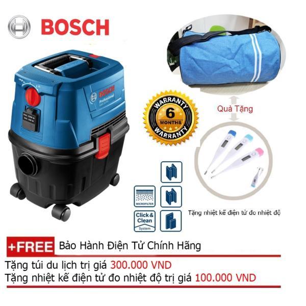 Máy hút bụi Bosch GAS 15 PS + Quà tặng balo du lịch