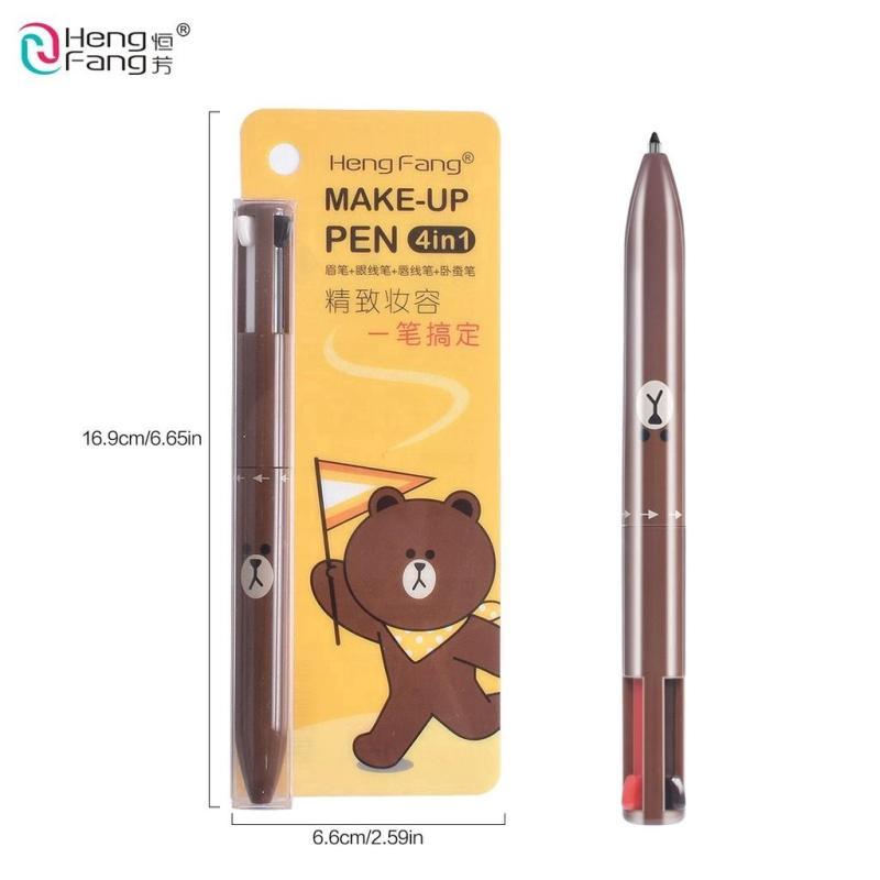 Bút Trang Điểm Tiện Lợi HengFang 4in1 nhập khẩu