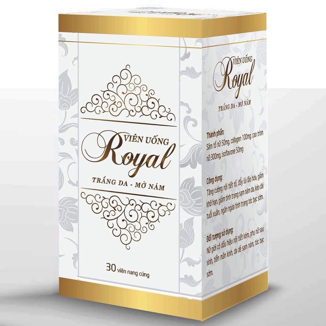 Mã Giảm Giá Viên Uống Royal Đẹp Da, Trắng Da, Mờ Nám, Thâm Mụn