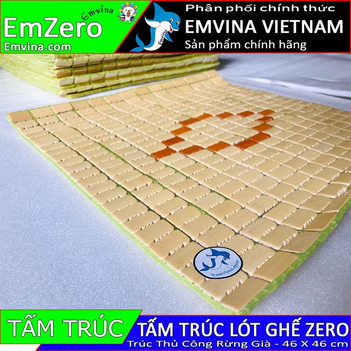 Tấm trúc thủ công rừng già EMVINA ZERO đệm lót ghế (Ghế chơi game văn phòng Emvina Zero Zero S Zero V2) full size