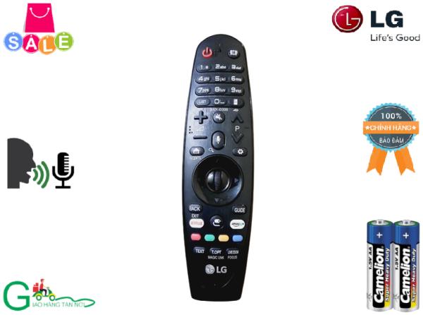 Bảng giá Remote Điều khiển từ xa Tivi giọng nói LG AN-MR650A LG 2017- Hàng chính hãng bóc máy còn rất mới tầm 95% + Tặng kèm Pin
