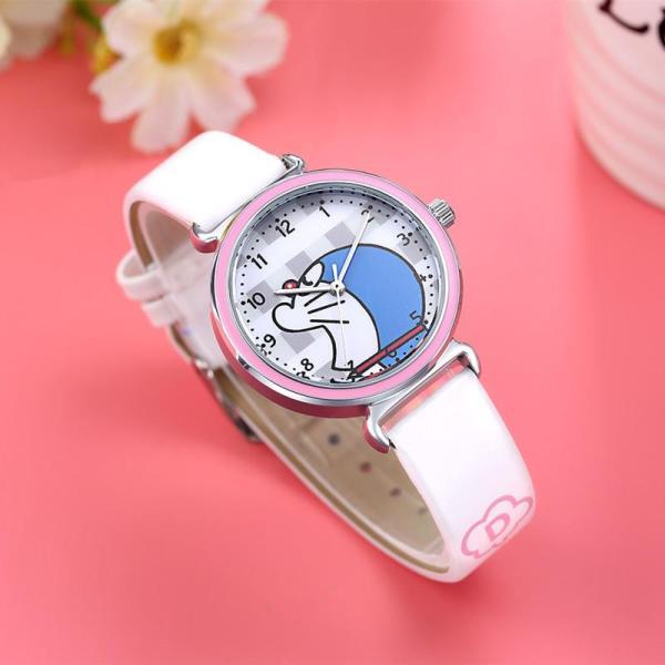 Đồng hồ kim trẻ em hình doraemon nhiều màu giá tốt decoshop68 W08