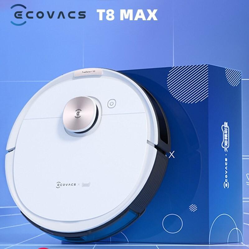 Robot hút bụi lau nhà Ecovacs Deebot T8 Max New 100%