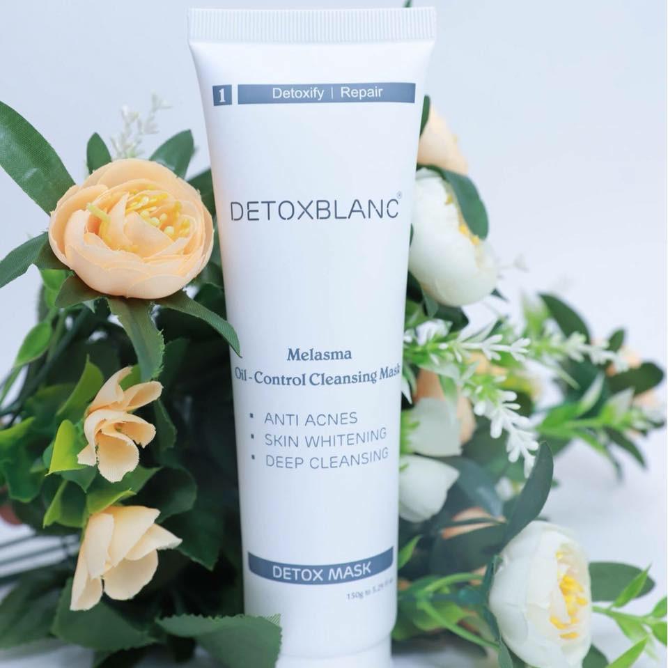 Mặt nạ sủi bọt thải độc trắng da Detox BlanC Mask than hoạt tính 150ml Nhật Bản