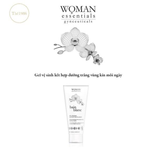 [Quà Tặng Kèm] Gel vệ sinh giảm sắc tố vùng kín Bain Blanc Woman Essentials 200ml - 3770006425301- mal - The 1986vn giá rẻ