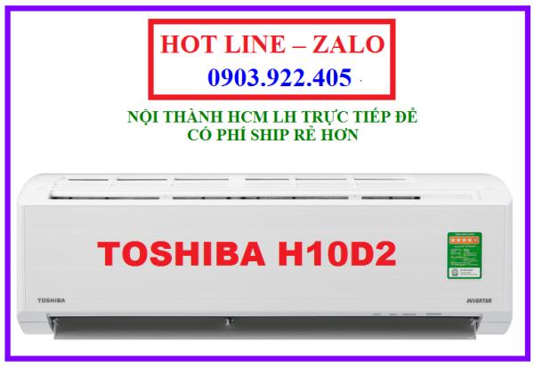 Máy lạnh Toshiba Inverter 1 HP RAS-H10D2KCVG-V model 2020