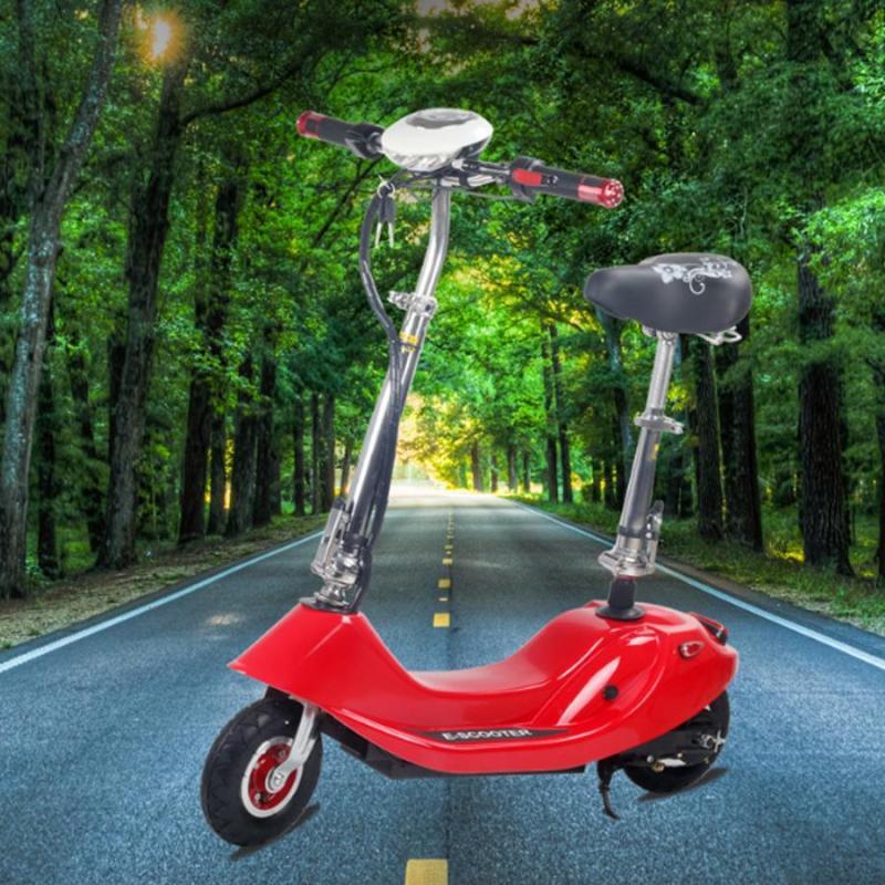 Mua Xe Điện Mini E-Scooter  24V-12A tặng kèm ghế cho trẻ em và giỏ xe