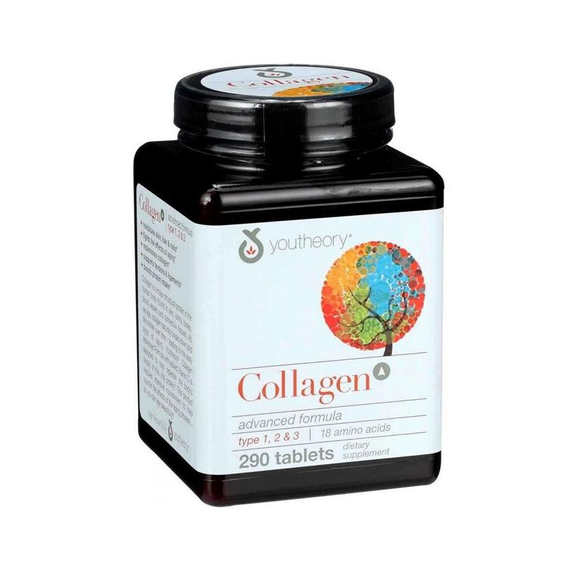 Collagen Youtheory Type 1 2 & 3 ( 290 viên ) Mỹ