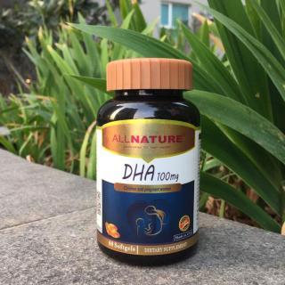 Viên uống bổ sung DHA cho trẻ em, phụ nữ dự định mang thai, đang mang thai và cho con bú DHA 100mg, USA thumbnail