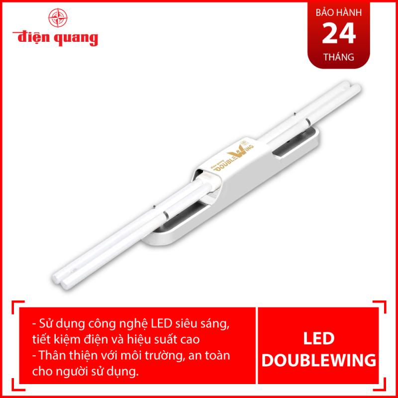 Bộ đèn LED Doublewing Điện Quang ĐQ LEDDW02 24765 (24W, daylight, bóng thuỷ tinh)