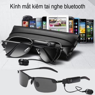 [ HOT TREND ] Tai Nghe Bluetooth 5.0 Không Dây Kiêm Mắt Kính Thời Trang Sành Điệu Thay Đổi Màu Kính, Pin Cực Trâu, Gọng Kim Loại Siêu Bền, Chống Bụi Bảo Vệ Mắt Khỏi Tia UV, Chất Âm Cực Chất, Đàm Thoại Nghe Nhạc Mọi Lúc Mọi Nơi. thumbnail