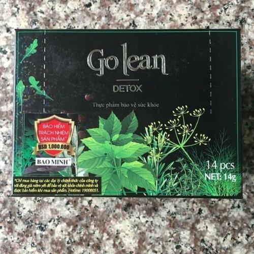 trà giảm cân Golean mẫu mới nhập khẩu