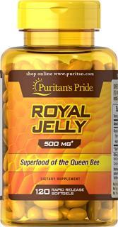 Sữa ong chúa (hsd 31 08 2021) tăng cường miễn dịch, đẹp da, tăng vòng một, chính hãng Puritan s Pride - Royal Jelly thumbnail