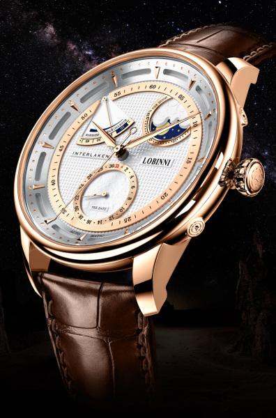 Đồng hồ nam chính hãng LOBINNI L17011-1