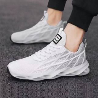 Giày nam giày chạy bộ 2021 mùa xuân và mùa hè mới hấp thụ sốc giày chạy bộ nhẹ đế mềm lưới thoáng khí giày thể thao nam thumbnail