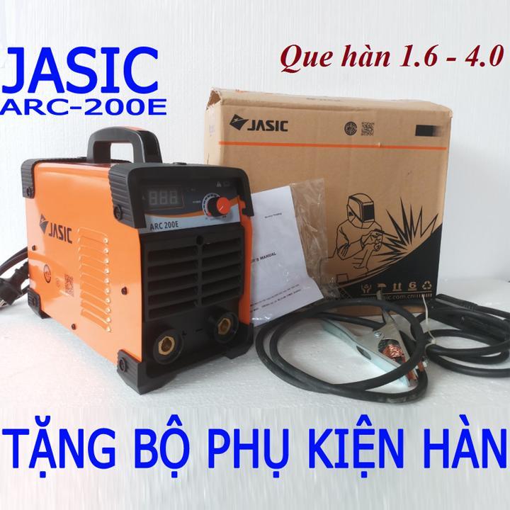 máy hàn điện tử JASIC ARC-200E - máy hàn que 3.2li
