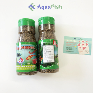 Combo 2 Lọ Thức Ăn Cho Cá Shanghai 180g lọ (viên nhỏ, dạng hạt nổi) thumbnail