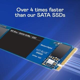 [Shop Mới] Ổ cứng SSD western Digital SSD WD Blue 3D-NAND M.2 2280 SATA III 250GB WDS250G2B0B - Hàng Chính hãng thumbnail