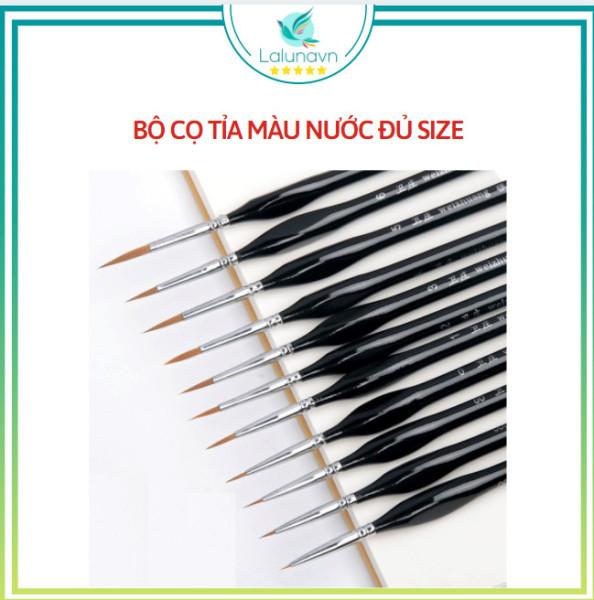 Mua Bút lông tỉa nét nhỏ, cọ vẽ móng, cọ vẽ loại xịn, họa cụ LALUNA