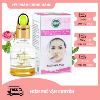 [HCM]Serum Ngừa mụn thâm - Giữ ẩm - Se khít lỗ chân lông Serum Acne SPF+++ Miền Thảo Mộc (25ml) thumbnail