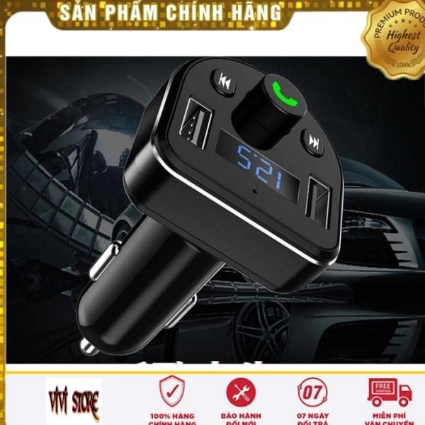 Dock, Tẩu, Cốc MP3 Cho Xe Hơi, Xe Ôtô Kết Nối Bluetooth, Nghe Nhạc, Sạc Pin, Nghe Điện Thoại Rãnh Tay Mp3