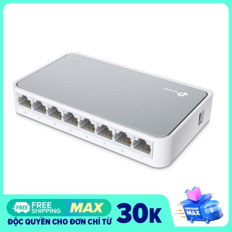 Bảng giá Bộ chia mạng switch TPLink TL-SF1008D 8 Port (Trắng) Phong Vũ