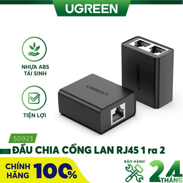 Bảng giá Đầu chia LAN RJ45 1 ra 2 UGREEN 50923 (2 chiếc/1túi) Phong Vũ