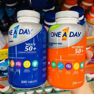 Viên bổ sung Vitamin cho Nam Vitamin One A Day nam trên 50+ tuổi One A Day Men s thumbnail