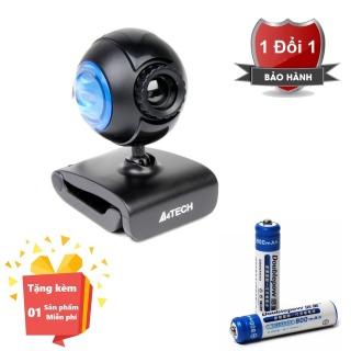 ( Tặng kèm 2 Pin sạc AAA chất lượng cao ) Webcam tích hợp Micro cho máy tính, PC, Laptop A4tech 752F - Webcam học online tại nhà A4tech PK-752F - Webcam online kèm Micro 752F thumbnail